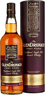 The GlenDronach PORT WOOD Highland Single Malt Scotch Whisky Whisky x 0.7