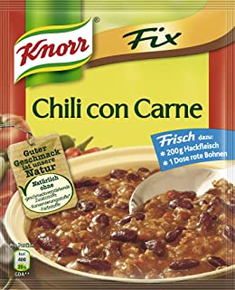 Knorr Fix Chili Con Carne - 20 Pack
