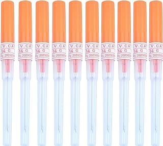 Aokbean 50 stks Piercing Naalden Tattoo Piercing Naald Piercing Naald Kit voor Body Piercing Benodigdheden (14G)