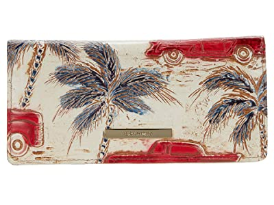 Brahmin Copa Cabana Ady Wallet (Ember) Bi-fold Wallet