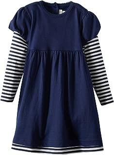 JoJo Maman Bebe Baby Girls' Double Layer Dress