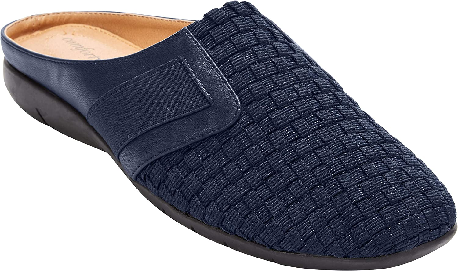 Comfortview Women's Wide San Antonio Mall Width 70% OFF Outlet Mule Lola The