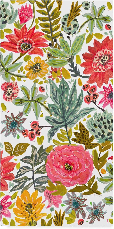 Trademark Fine Art Multi Bloom Floral I by Karen Fields, 10x19