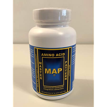 MAP Master Amino Acid Pattern® Formula originale (120 compresse) 99% Net Nitrogen Utilization® (NNU®)
