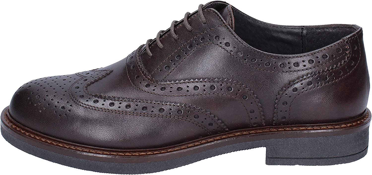 OSSIANI Oxfords-shoes Mens Leather Brown