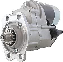 New 12 Volt Gear Reduction Starter for John Deere Combines 950 1050 1250 w 3T90 Yanmar Diesel 1978-1990 2.5KW 15 Tooth 028000-5660 028000-5661 028000-5662 CH12096 TY6649 TY6674 28100-42160 010790