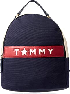 Tommy Hilfiger Fashion Backpack for Women - Blue