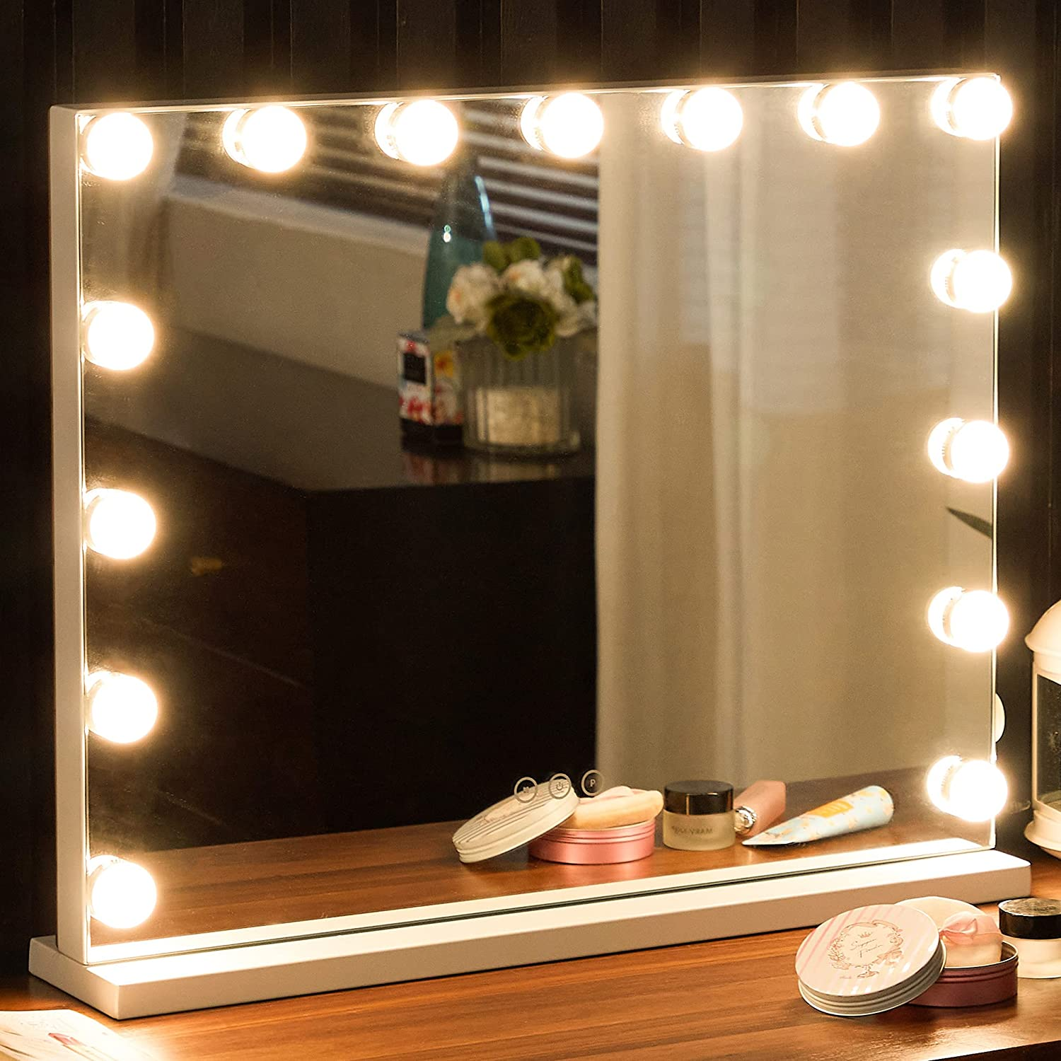 Max Award-winning store 42% OFF Vanity Mirror with Lights Makeup Hollywood Large Lighted