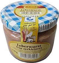 Feine Leberwurst im Glas 250g - Hausmacher Wurst - leckerer Brotaufstrich - Kochwurstspezialität aus Schweinefleisch und f...