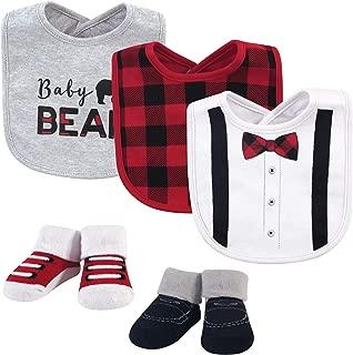 Little Treasure Baby Bib and Socks Set