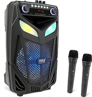 "$142 » Sponsored Ad - Portable Bluetooth PA Speaker System - 600W 10"" Outdoor Bluetooth Speaker Portable PA System - Microphone, ..."