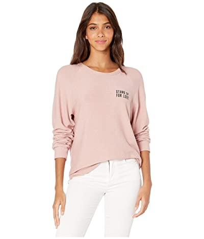good hYOUman Dave Stand Up For Love Sweatshirt (Dust) Women