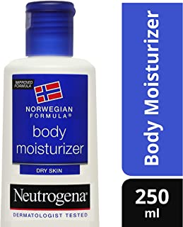 Neutrogena Norwegian Formula Body Moisturizer for Dry Skin, 250ml