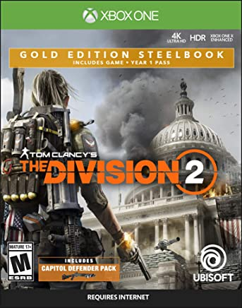 Tom Clancy's The Division 2 - Xbox One Gold Steelbook...