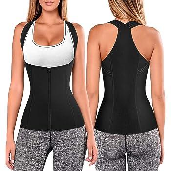 Women Back Braces Posture Corrector Waist Trainer Vest Tummy Control Body Shaper for Spinal Neck Shoulder and Upper Back Support (M, Black)