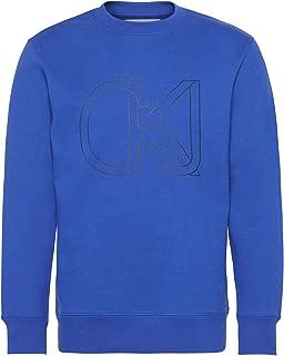 Calvin Klein Men's J30J309736-Blue Sweatshirts