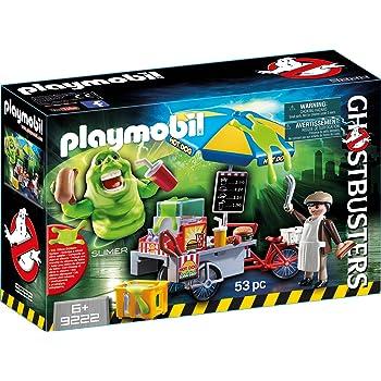 PLAYMOBIL Ghostbusters 9222 Slimer mit Hot Dog Stand, Ab 6 Jahren