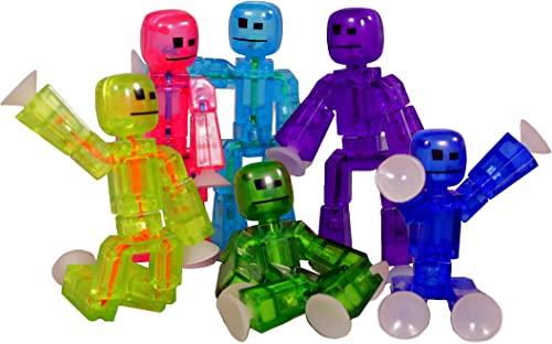 muchas sorpresas Toy Shed Stikbots for 6-Color Action Figure, Pack of of of 6  muchas concesiones
