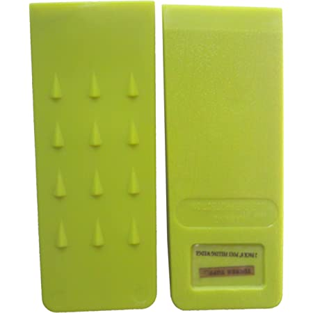 """Logging Tools 2 Pack 8/"""" Inch Green Plastic Felling Wedge Redneck Convent Spiked Tree Felling Wedges for Tree Cutting"""