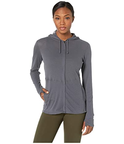 ExOfficio BugsAway(r) Lumen Full Zip Hoodie (Carbon) Women