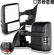 ECCPP Towing Mirrors Replacement fit for Ford F-250 F-350 F-450 F-550 Power Heated Signal Pair Mirrors 2008 2009 2010 2011 2012 2013 2014 2015 2016