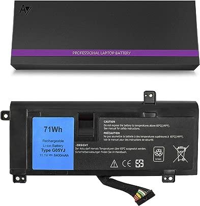 DELL G05YJ Akku 11 1V 71Wh AYIPE Hochleistungs-Ersatz-Laptop-Akku f r DELL Alienware 14 A14 M14X R3 R4 Kompatibel Alienware 14D-1528 Alienware G05YJ 0G05YJ Y3PN0 8X70T Schätzpreis : 49,99 €
