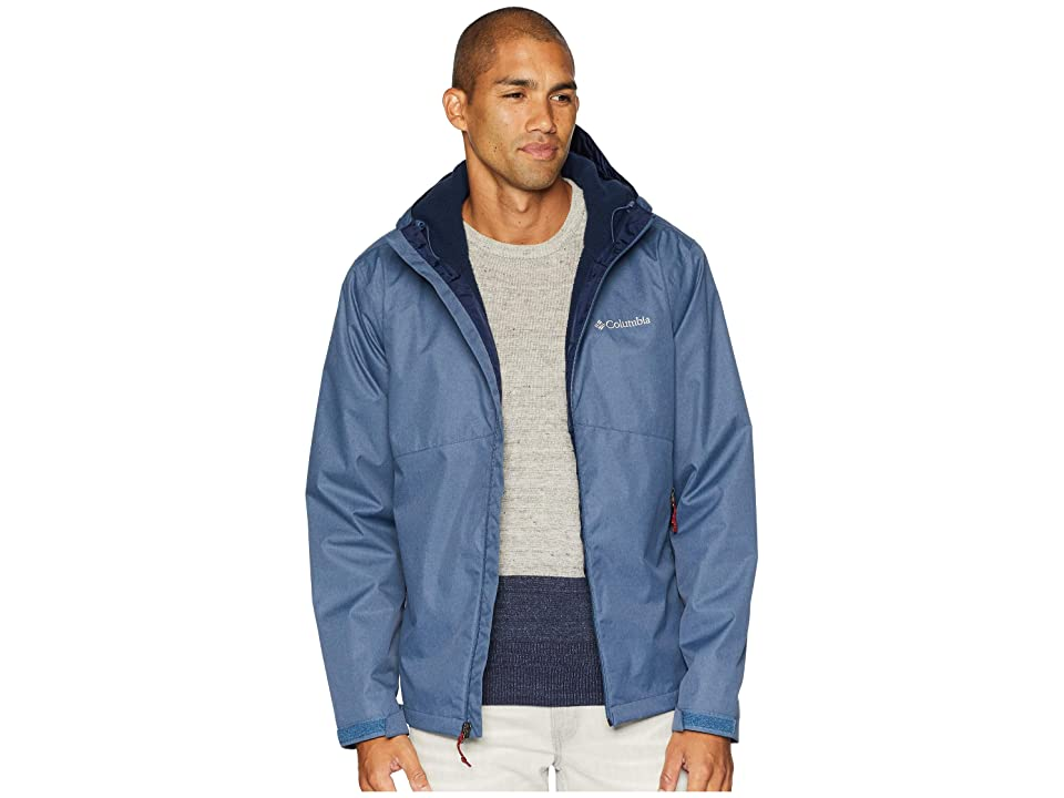 Columbia Rainie Fallstm Jacket (Dark Mountain/Stone Sherpa) Men