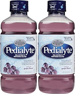 Pedialyte Oral Electrolyte Solution - Grape - 1 lt - 2 pk
