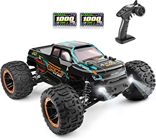 1:16 Scale All Terrain RC Cars 16889, 36 Km/h High Speed 4WD Electric Vehicle with 2.4 GHz Radio Controller, Waterproof Of...