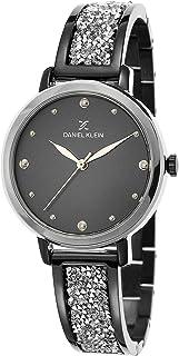 ساعة دانيال كلاين بريميوم خليط معدني بسوار ستانلس ستيل للنساء - DK.1.12450-5