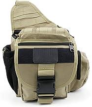 DURAGADGET Khaki draagtas w/meerdere zakken en aanpasbare binnencompartiment (camera NIET inbegrepen) - compatibel met Vte...