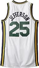 NBA Utah Jazz White Swingman Jersey Al Jefferson #25 Jazz