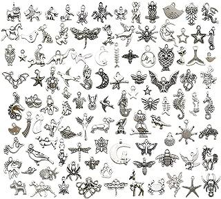 antique silver animals