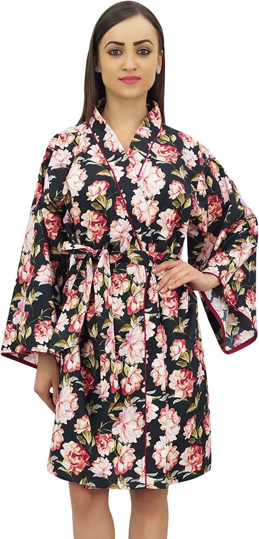 Bimba Women's Floral Robe Bridal Bridesmaid Kimono Ranking Popular shop is the lowest price challenge TOP4 Cov Sleepwear