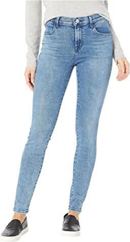 Maria High-Rise Skinny Jeans in Meteor