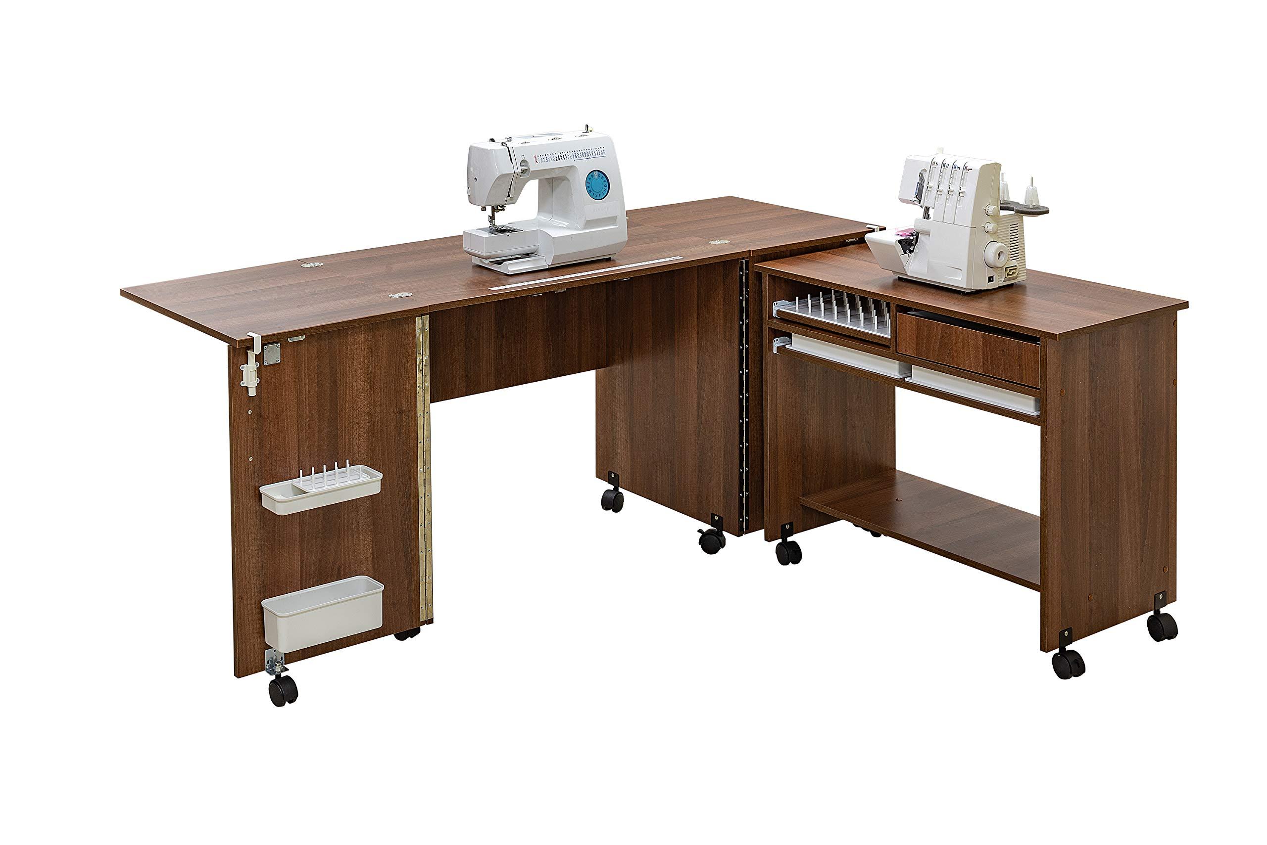 Comfort 7 | Mueble para máquina de coser | (Beech Ellmau): Amazon ...