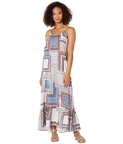 Karen Kane Ruffle Hem Dress (Print) Women