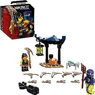 LEGO 71733 NINJAGO Legacy Epic Battle Set – Cole vs. Ghost Spinner Playset with 2 Warrior Ninja Minifigures