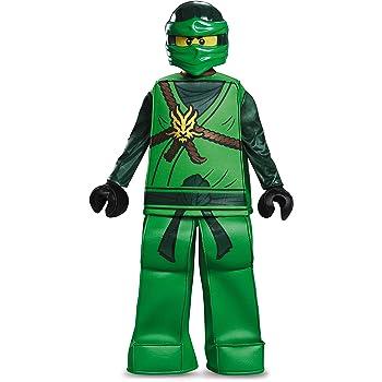LEGO - Disfraz Ninjago Lloyd Prestige, Talla pequeña, Edad 4 a 6 ...