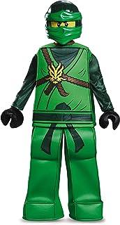 Disguise Lloyd Prestige Ninjago Lego Costume, Large/10-12