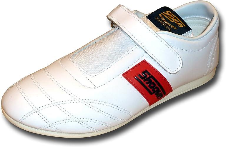 SHOGUN chaussures en cuir souple de Taekwondo - livraison gratuite, taille 43, blanche