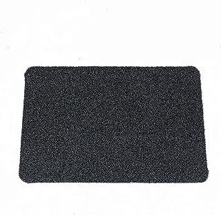YQ Park Indoor Outdoor Easy Clean Rubber Entry Way Doormat for Patio Front Door All Weather Exterior Doors Artificial Mat ...