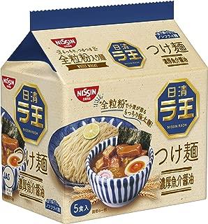 日清 ラ王 つけ麺 濃厚魚介醤油 5食パック 500g×6袋