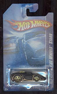 Hot Wheels Stars '08 Black/gold 'Tooned Enzo Ferrari 066/172 1:64 Scale