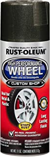 Rust-Oleum 248930 Automotive 11-Ounce High Performance Wheel Spray Paint, Graphite
