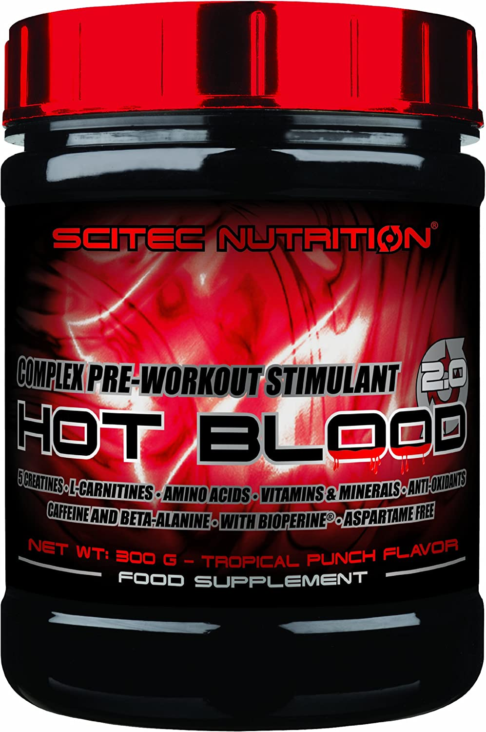 Scitec Nutrition Hot Blood New product! New type 2.0 Dealing full price reduction - Grapefruit
