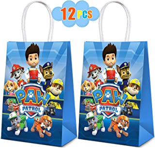 Paw Dog Patrol Party Bags- Birthday Supplies Decorations - Party Favors Theme Goodie Bags