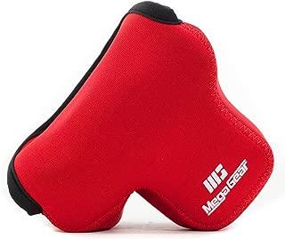 MegaGear MG514 Olympus PEN E-PL9, E-PL8, E-PL7 Ultra Light Neoprene Camera Case - Red