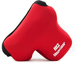 MegaGear MG514 Olympus PEN E-PL9, E-PL8, E-PL7 Ultra Light Neoprene Camera Case - Red
