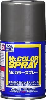 GSIクレオス Mr.カラー スプレー S28 黒鉄色